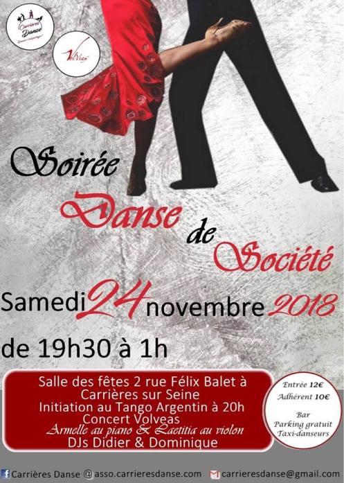 Carrieres Danse 24 novembre 2018